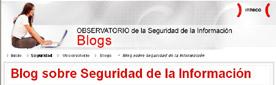 Nuevo blog de Seguridad de INTECO